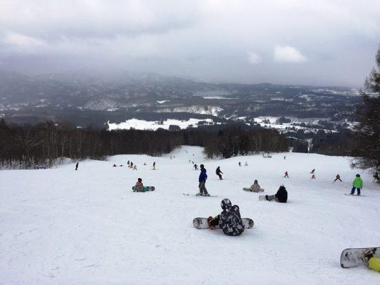 今シーズン最後のスキーへ20170226-2