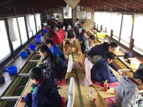 「子供わかさぎ釣り教室」20170317-3