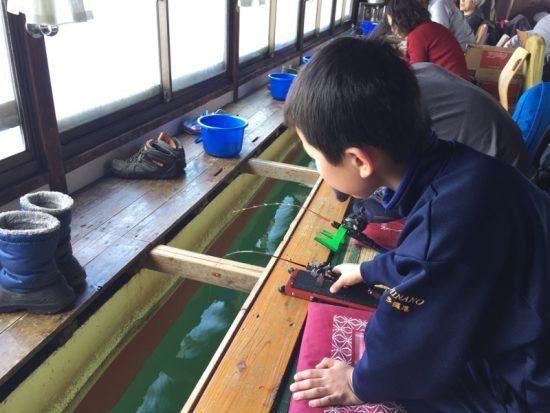 「子供わかさぎ釣り教室」20170317-4
