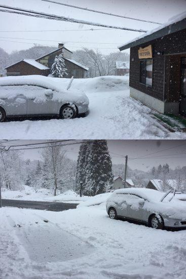 今日の信州・黒姫20170324~昨日より雪が降り続いています~1