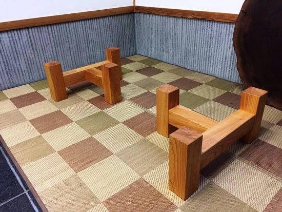 総欅造り一枚板座卓が完成しました20170412-4