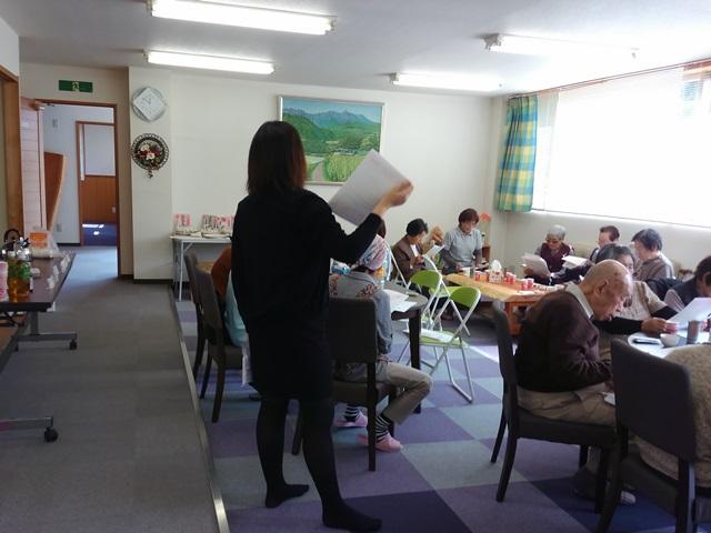 多羅尾事務所介護者交流会を開催しました~「食」についての情報交換会~