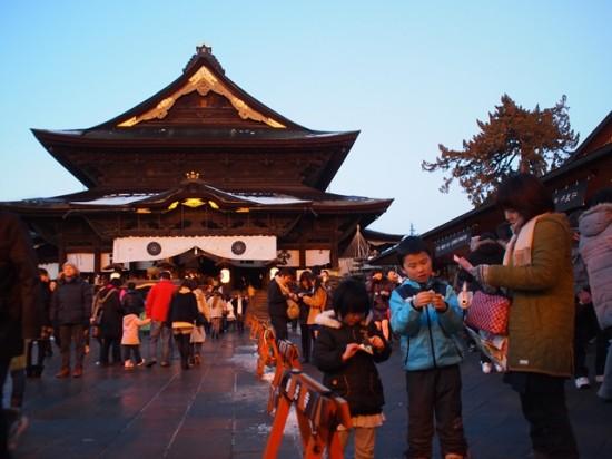 善光寺初詣2014-1