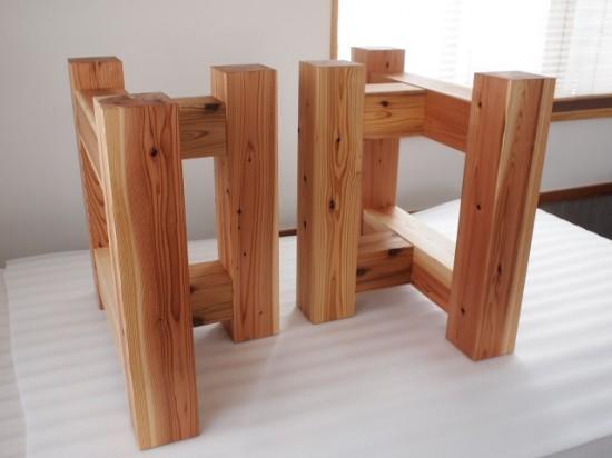 杉テーブル専用脚