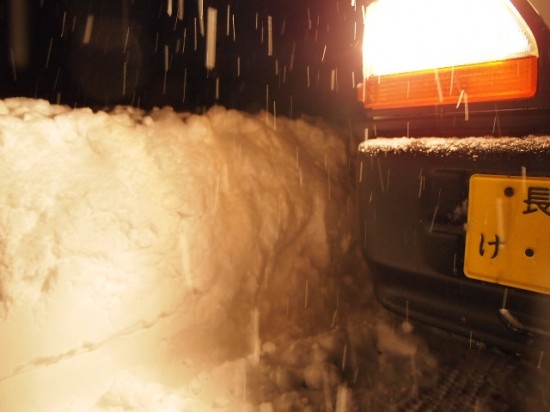 岐阜銘木市場雪の壁3