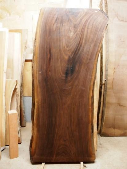 ブラックウォルナット一枚板天板素材20160209