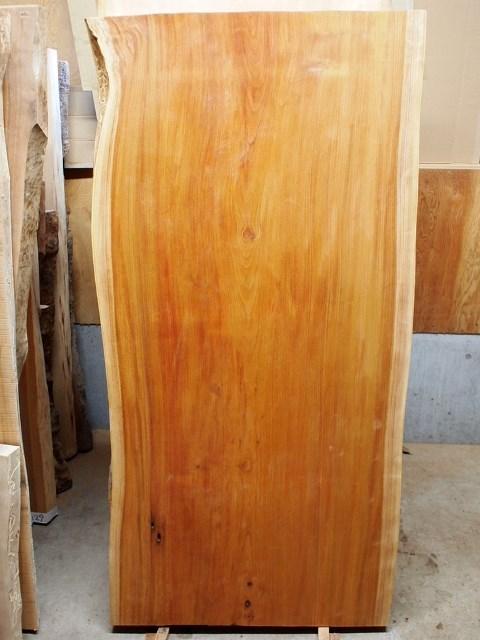 長野市中山様欅一枚板テーブル製作開始20150625