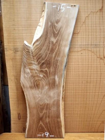 エンジュ耳付き一枚板原木素材