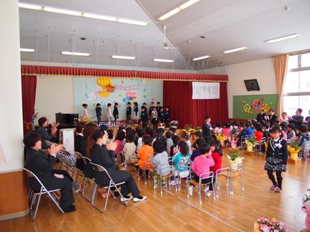 卒園式2012