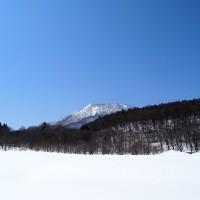 黒姫山がくっきり!