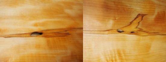 栃一枚板テーブル(テーブル・座卓兼用脚)完成20140618-5