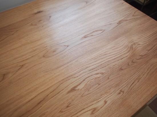 ナラダイニングテーブルとティーテーブル4