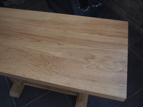 ナラダイニングテーブルとティーテーブル7