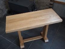 総楢造りティーテーブル