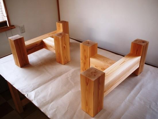欅老木一枚板座卓完成20150418-4