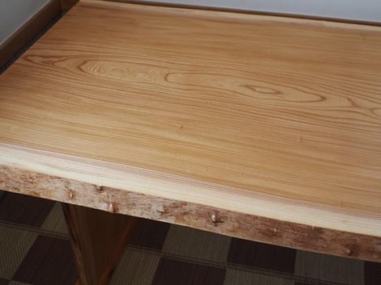総欅造り一枚板ダイニングテーブル8