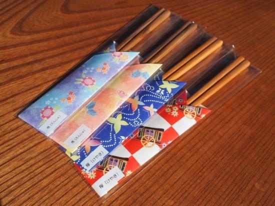 天然木箸4膳出荷20140424