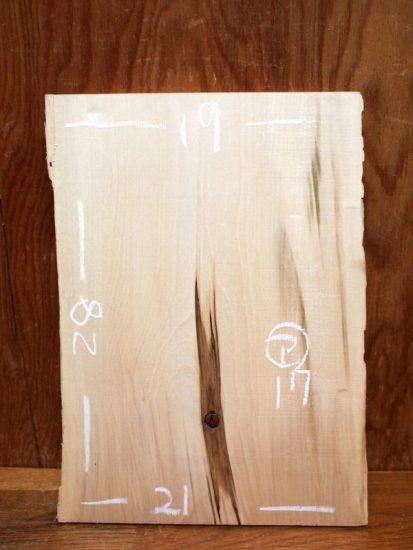 バーニングアート作品栃一枚板原木素材20171030