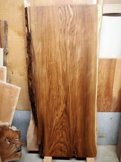 槐(えんじゅ)一枚板座卓天板素材