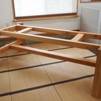 欅巨木一枚板テーブル、完成20140524
