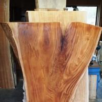 東京都・高田様の総欅造り一枚板座卓の製作に入りました20140213