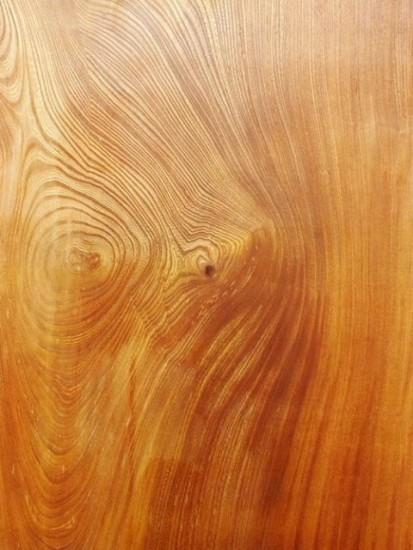 欅老木杢一枚板座卓オーダー製作20150120