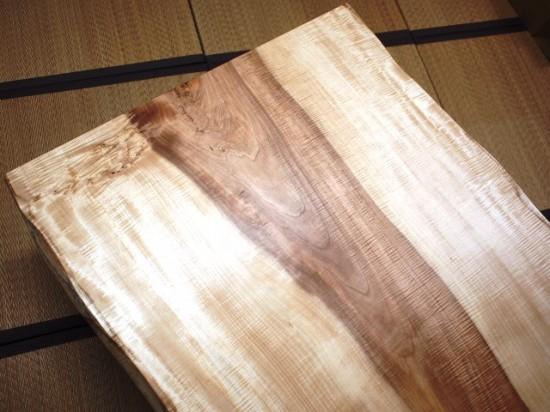 栃一枚板天板完成20140605-2