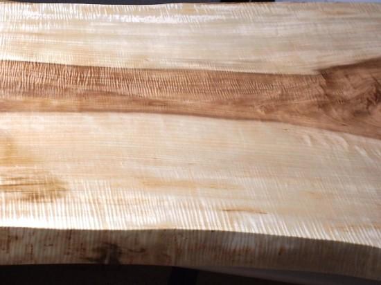 栃一枚板天板完成20140605-5
