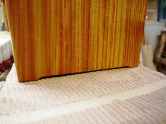 欅一枚板ベンチ5