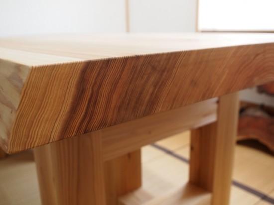 杉一枚板良杢材の木目