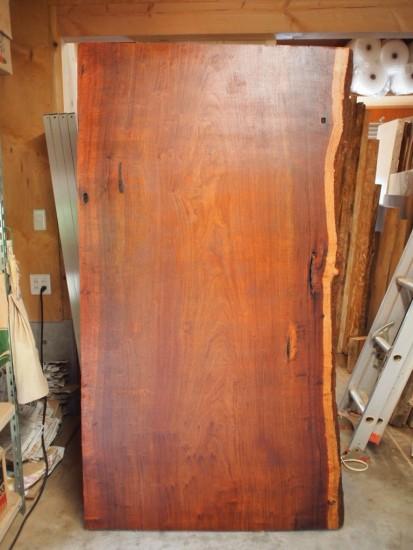 花梨(かりん)一枚板天板素材
