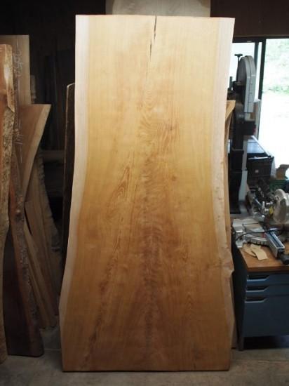 欅広幅厚盤テーブル天板1
