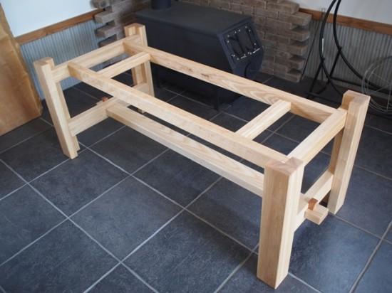 楠一枚板ダイニングテーブル12