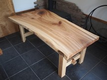 楠(くす)一枚板ダイニングテーブル