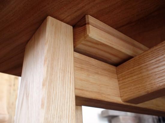 楠一枚板ダイニングテーブル14