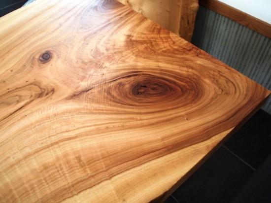 楠一枚板ダイニングテーブル19