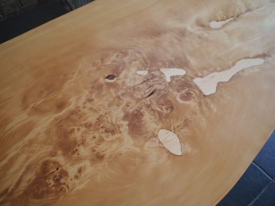 木曽檜一枚板テーブル2