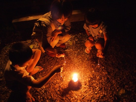 我が家で小さな花火大会20130830-2