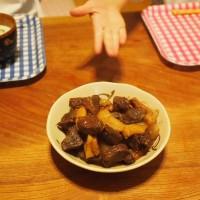 熊肉の大和煮を作ってみました20141015