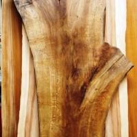 千葉県・青柳様の楢一枚板酒卓(総楢造り)の製作を開始しました