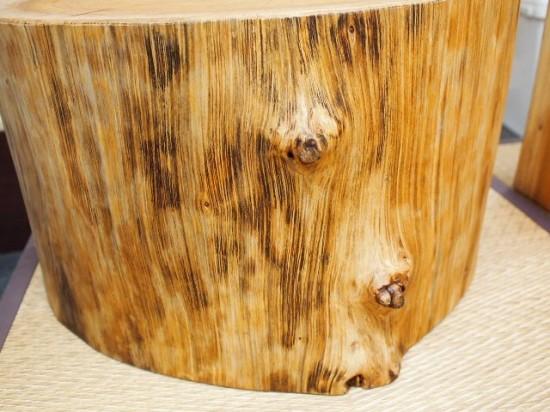 欅丸太半割脚4