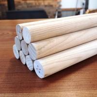 銘木無垢材丸棒のオーダー製作、栗(クリ)・朴(ホオ)丸棒等の販売を開始しました20131125