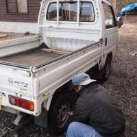 愛車の軽トラのリニューアル