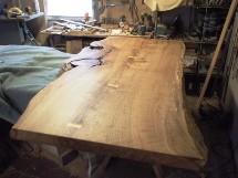 楢巨木一枚板天板