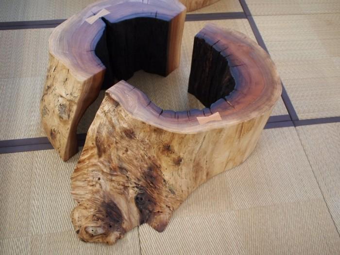 欅空洞木半割脚c