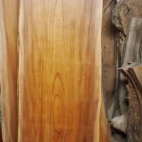 栃木県須永様の欅一枚板テーブル製作に入ります(杉テーブル・座卓兼用脚タイプ)