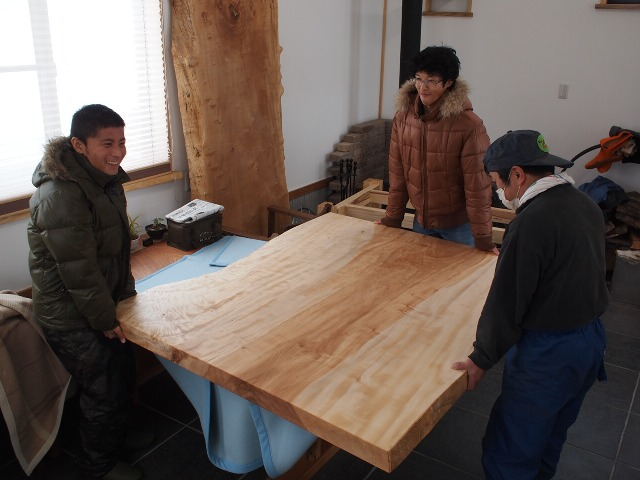 K様テーブル・座卓出荷2