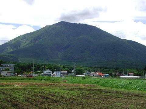 2004年春の黒姫山
