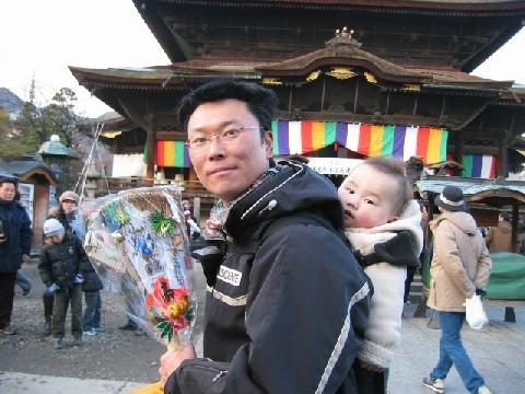 ブログをご覧の皆様、新年明けましておめでとうございます! 今日は善光寺に初詣に行ってきました。昨年