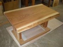 杉耳付一枚板テーブル2セット(掘りごたつ用・飲食店仕様)3